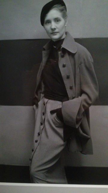 Photo de Richard Rutledge, 1949. Modèle Lanvin.
