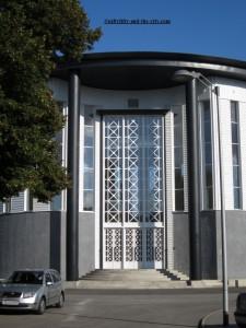 Pavillon de la France construit en 1936 par Bernard Laffaille