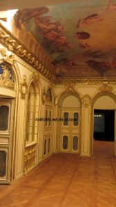 Maquette de la Chancellerie d'Orléans